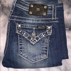 girls Miss Me Pants